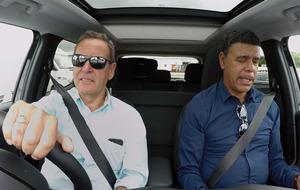 Video: Sky Sports presenters Jeff Stelling and Chris Kamara begin road trip to Croke Park