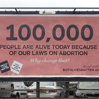 Anti-abortion billboard complaints dismissed by regulator