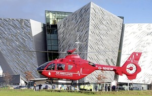 Air Ambulance service launches in Northern Ireland after 12-year campaign