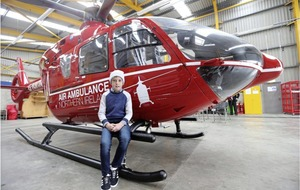 Boy (11) reunited with crew who came to aid as air ambulance officially launched