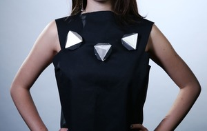 Researchers create shape-changing robot jewellery that can move around your clothing