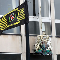 UFF flags outside courthouse 'should be removed immediately'