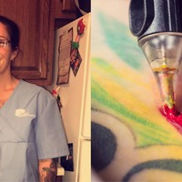 This man's passionate defence of his tattooed nurse mother is guaranteed to capture your heart