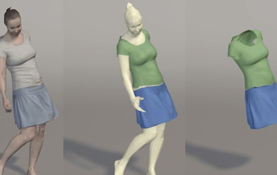 Could 4D virtual simulation that lets you 'try' new outfits make changing rooms a thing of the past?