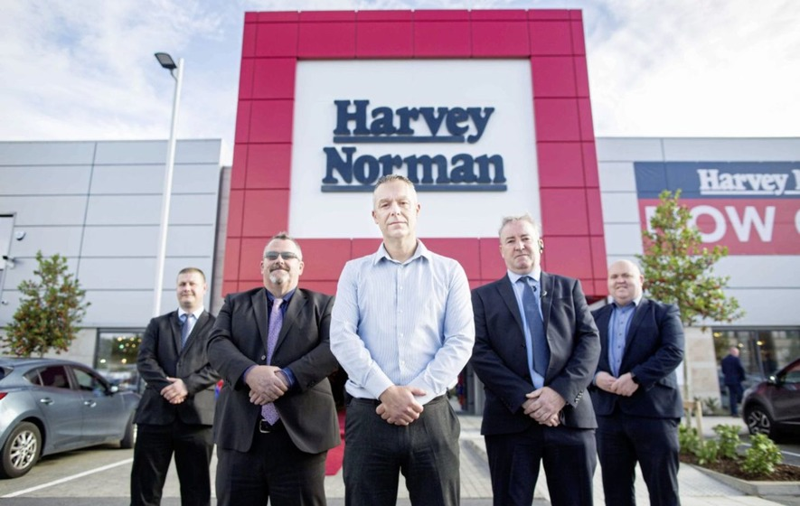 Lisburn-based security firm Mercury secures lucrative Harvey Norman contract