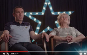 Video: Armagh GAA's Oisín McConville and his mother talk about match preparation and fries