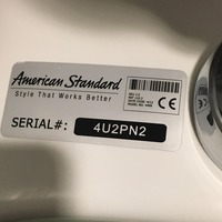 The hidden message written on this urinal could not be more appropriate