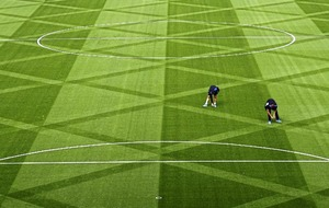 Life's a pitch for creative Premier League groundsmen
