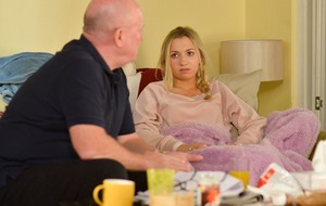 EastEnders' Louise has heart-to-heart with dad Phil after kidnap trauma