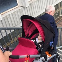 Jeremy Corbyn helped carry a pram up some steps, so naturally everyone's over-analysing it