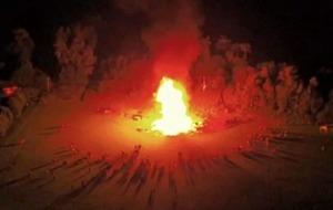 BBC presenter's shock at loyalist bonfires