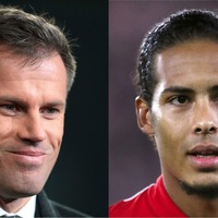 Jamie Carragher may have got Liverpool fans' Virgil Van Dijk hopes up with this tweet