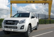Isuzu D-Max: Samson and Goliath's company car