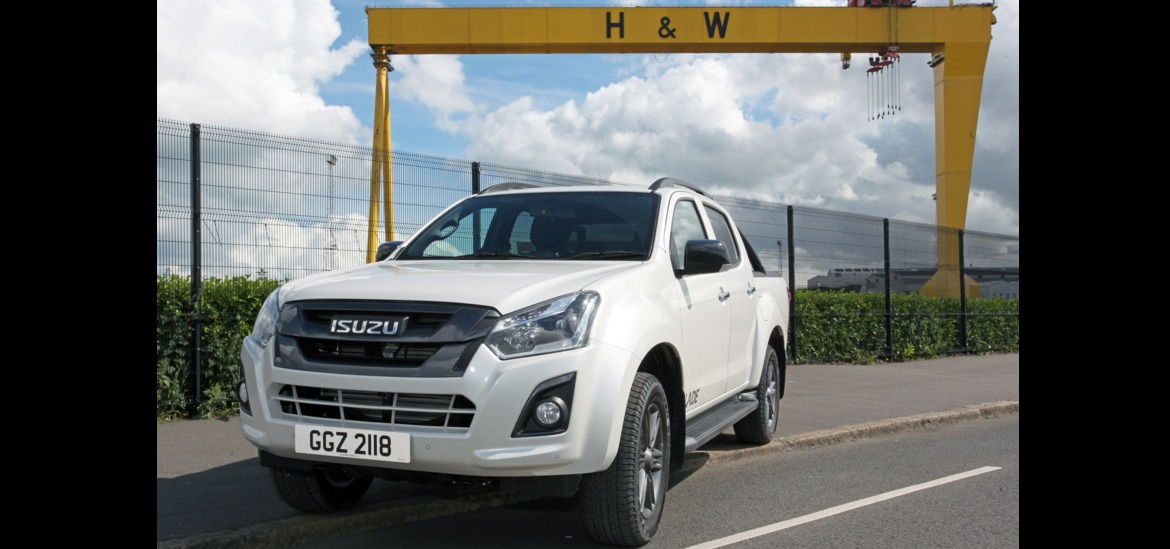 isuzu d max samson and goliath 39 s company car the irish news. Black Bedroom Furniture Sets. Home Design Ideas