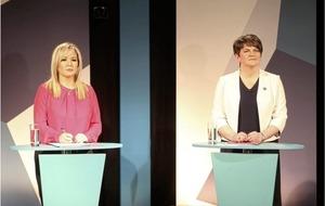 Sinn Féin's Michelle O'Neill says she and DUP leader Arlene Foster 'work our way through' difficulties