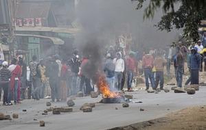 Kenya opposition leader alleges election fraud