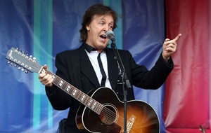 Sir Paul McCartney pledges support for charity remake of We All Stand Together