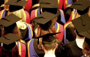 Just two per cent of higher education graduates unemployed three years on