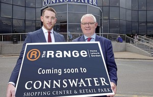 Retail chain The Range to create 80 jobs with new Connswater store