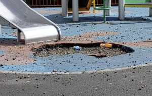 Youths cause damage to north Belfast playpark