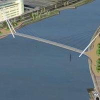 'No money' for Belfast footbridge says Stormont department
