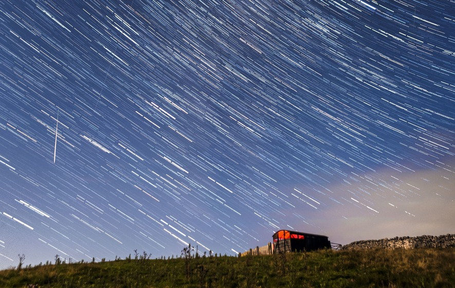 Perseid meteor shower: A picturesque night for star gazers in India