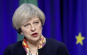 Irish citizenship is your birthright, pledges Theresa May