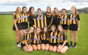 Co Antrim camogie team take delivery of new jerseys after Croke Park theft