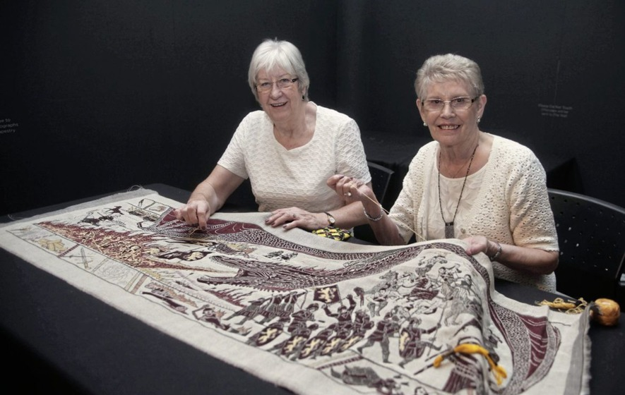 Game Of Threads Meet The Embroiderers Behind The Game Of Thrones Tapestry The Irish News