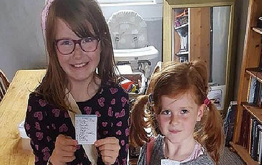Missing sisters believed to be in motorhome with father
