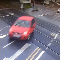 Video: Translink releases footage of near misses at level crossings
