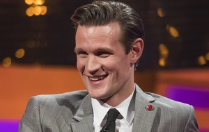 Matt Smith sang Doctor Who theme for Jodie Whittaker on voicemail