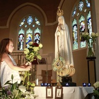 Our Lady of Fatima comes to Down and Connor