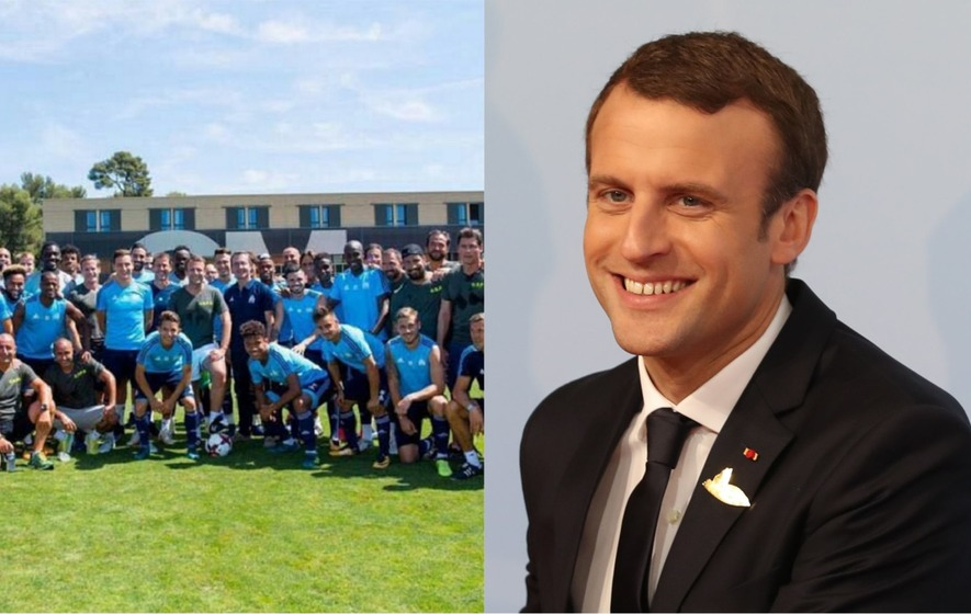 Emmanuel Macron Having A Kickabout With Marseille Is The Coolest Thing A World Leader Did This Week The Irish News
