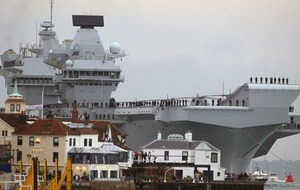 Just how big is the navy's newest and largest vessel, the HMS Queen Elizabeth?