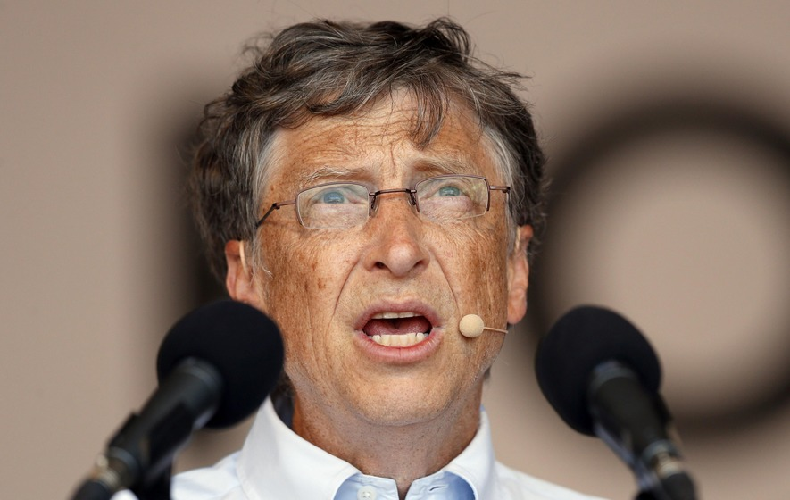 Bill Gates just gave £3600000000 to charity