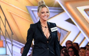 Viewers unimpressed by Sarah Harding's tears on Celebrity Big Brother