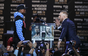 Conor McGregor spurred on by ridicule as he prepares to face Floyd Mayweather