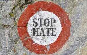 Sharp decline in the number of cases of hate crime submitted by police to the Public Prosecution Service