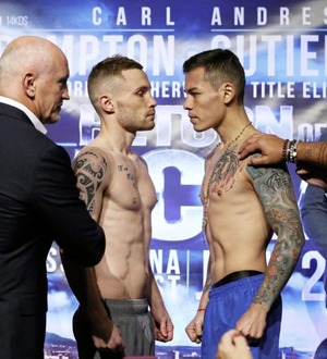 Carl Frampton v Andres Gutirrez fight called off