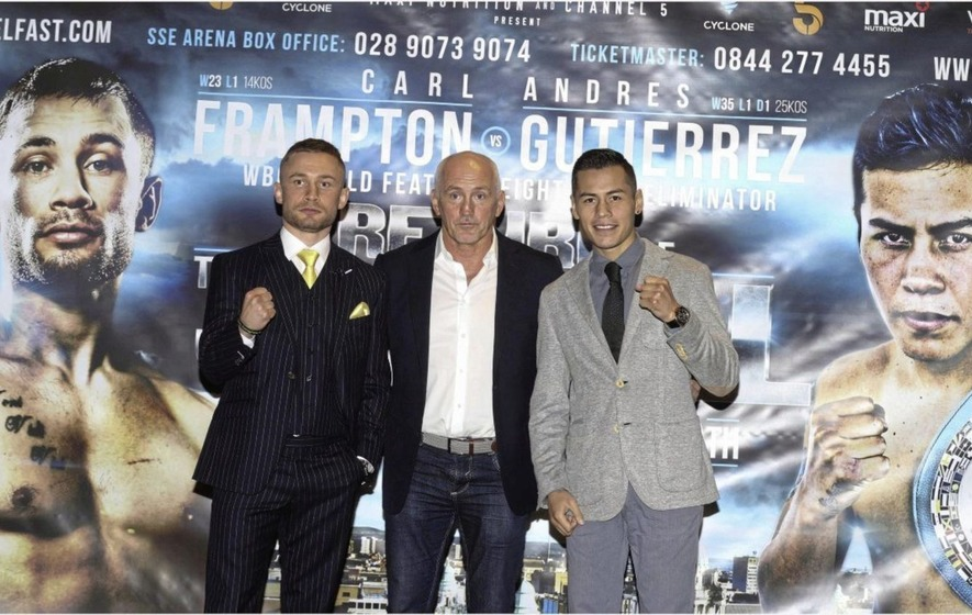 Carl Frampton's propsed Belfast fight with Andre Gutierrez is off