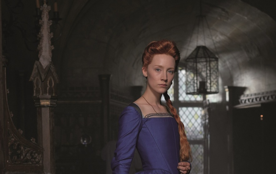 First glimpse of Saoirse Ronan as Mary Queen of Scots
