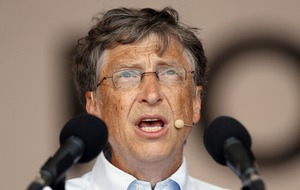 Bill Gates has given away 64 million Microsoft shares in a charity donation