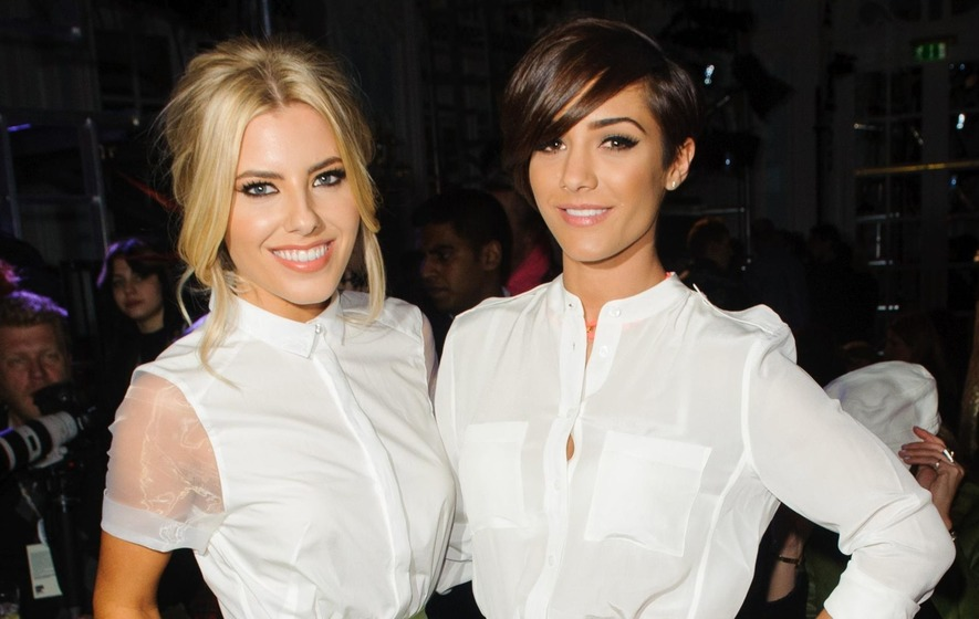 Frankie Bridge backing Mollie King on Strictly Come Dancing