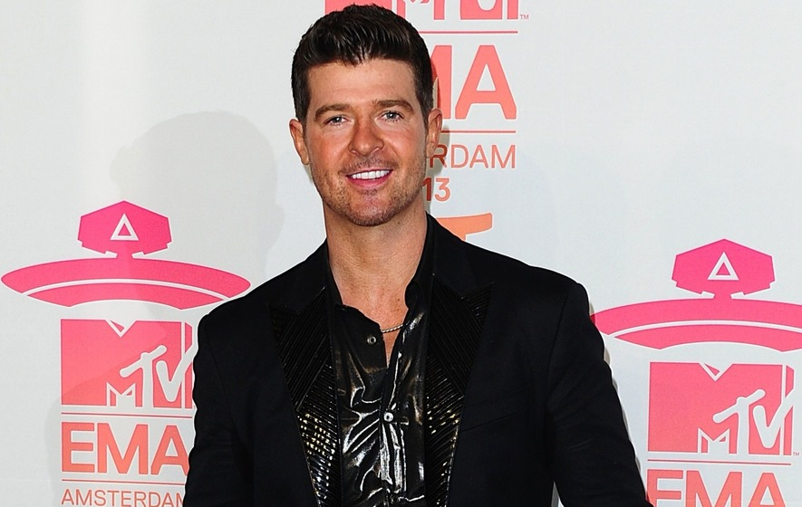 Robin Thicke & April Love Geary Expecting Child Together