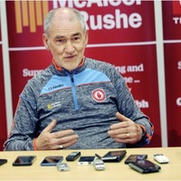 Hill 16 can lift Dublin over us warns Tyrone manager Mickey Harte