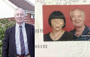 Eddie Girvan killing: Chinese wife comes forward to say she was 'only told of death weeks ago'