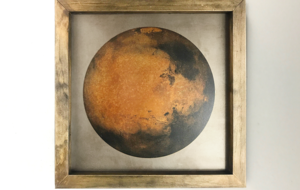 How a creative made this exquisite Mars portrait out of real rust