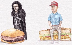 Celebs On Sandwiches is the food and celebrity mash-up you need to follow on Instagram