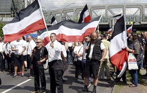 Thirty-nine people detained after far-right march in Berlin